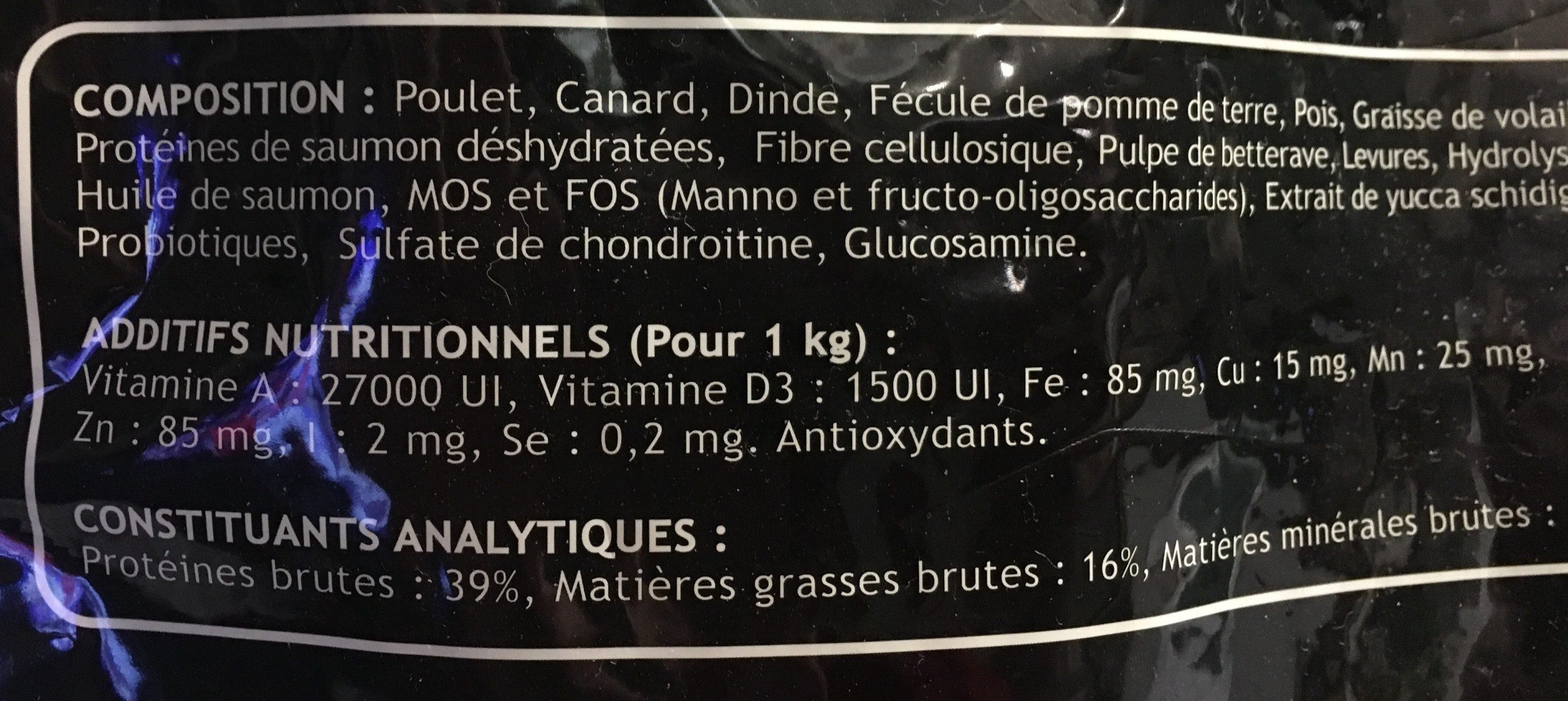 Croquettes pour chat - Ingredients - fr