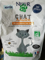 Nestor bio croquettes chat adulte - Product - fr