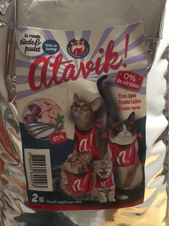 Croquettes chats dinde & poulet - Product - fr