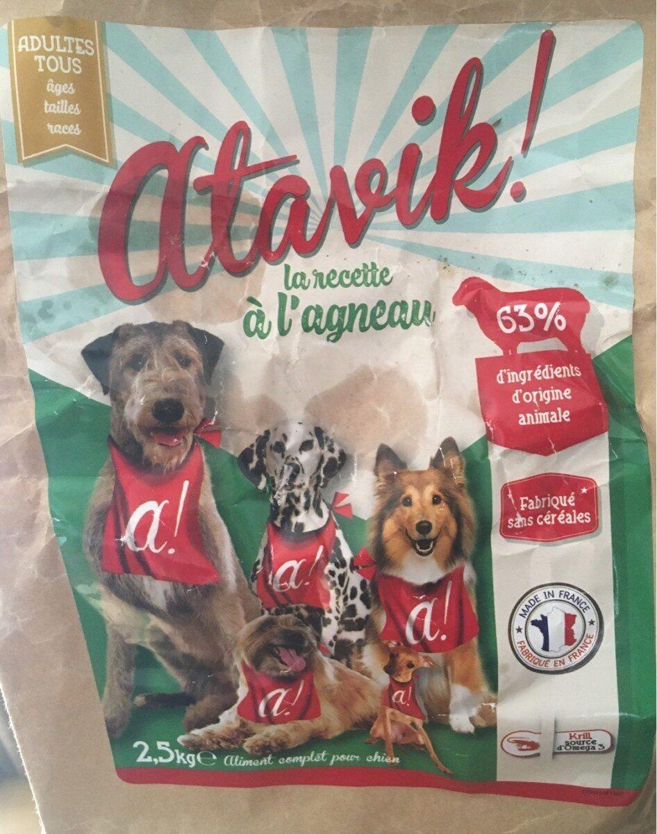 Croquette chien a l'agneau - Product - fr