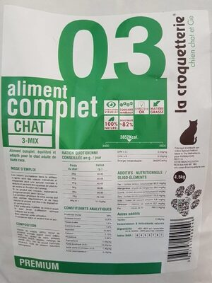Aliment complet chat 03 - Product - fr