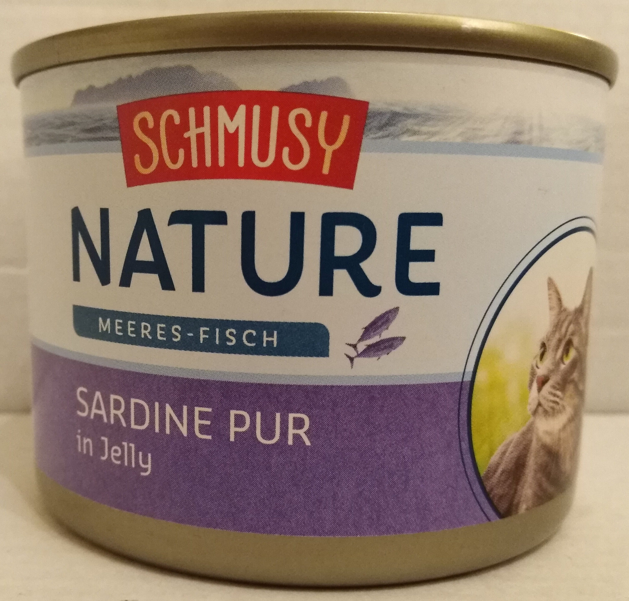 Meeres-Fisch Sardine Pur in Jelly - Product