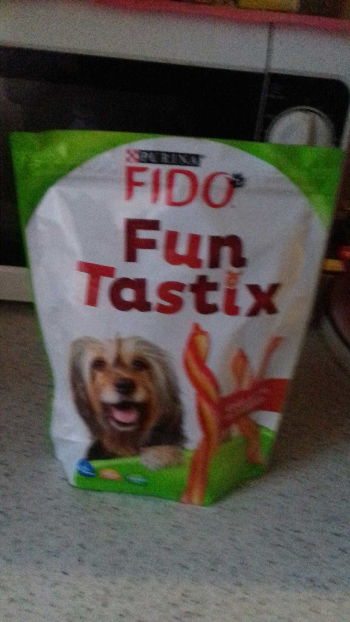 150G Fun Tastix Jambon / Fromage Fido - Product