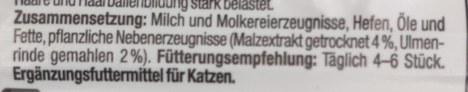 Malt Tabs - Ingredients - de