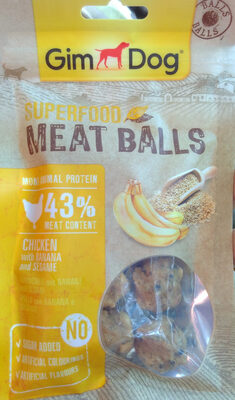 Superfood Meat Balls - Produit - fr
