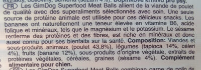 Superfood Meat Balls - Ingrédients - fr