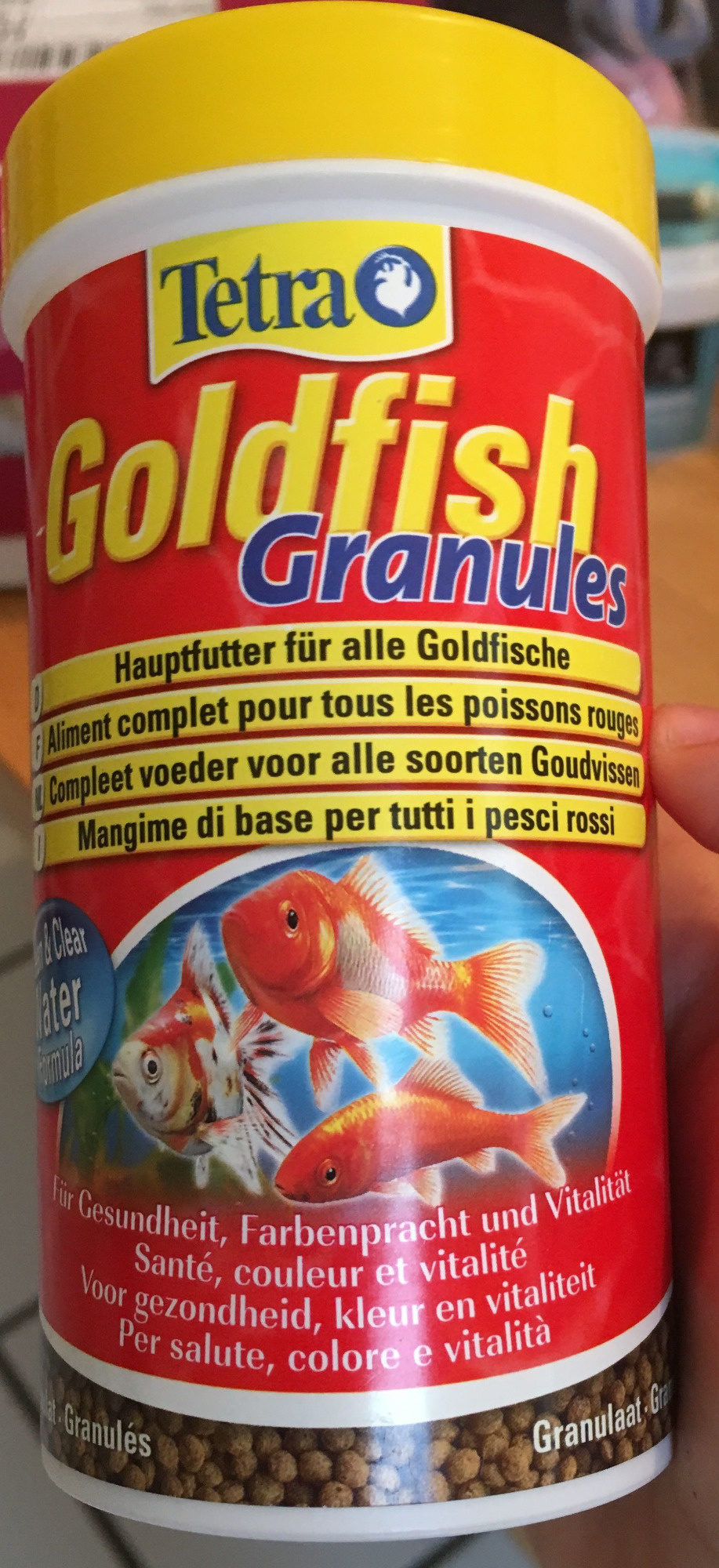 Goldfish Granules - Aliment Complet Poissons Rouges - Product - fr