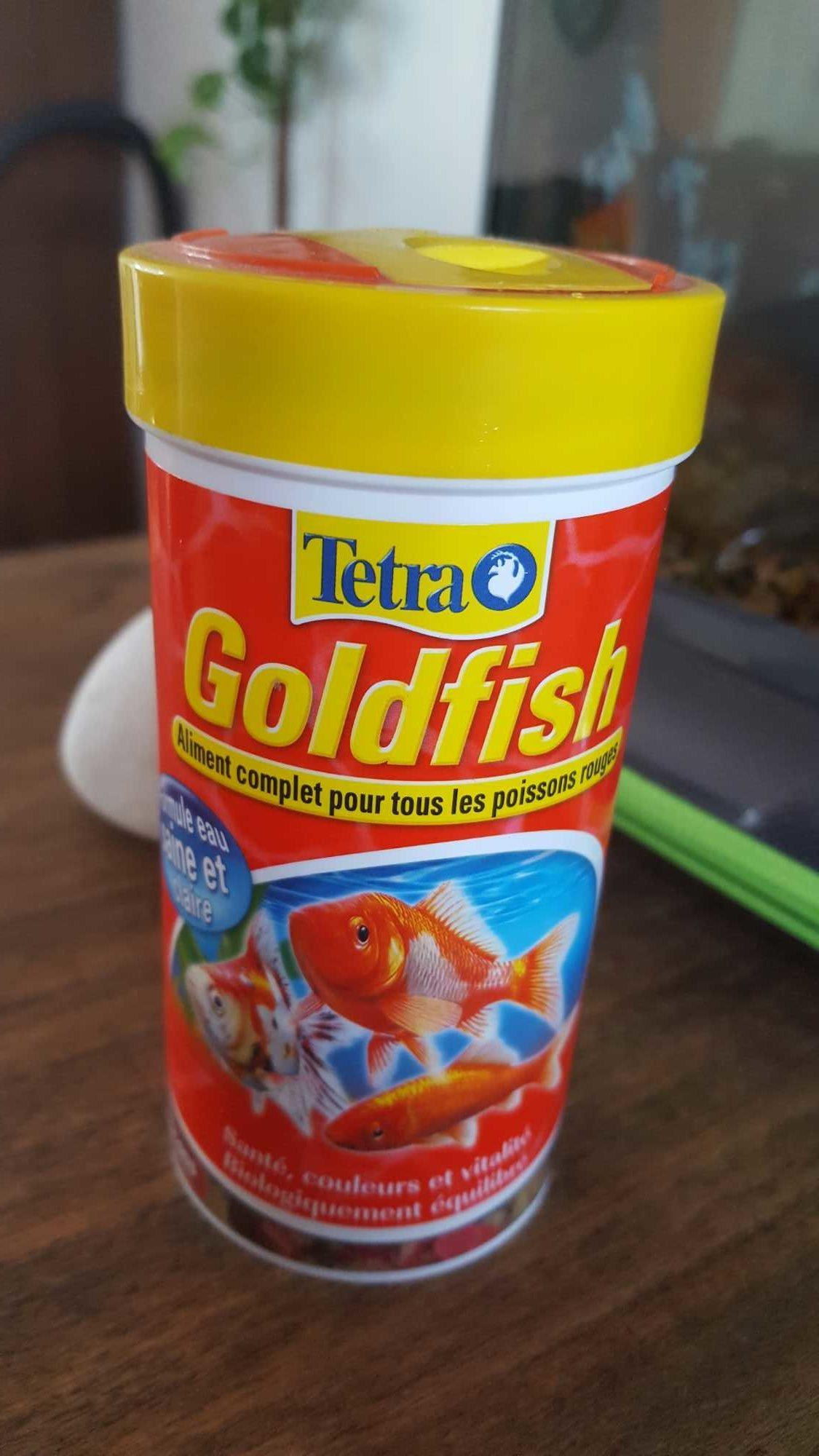 Aliment Complet Goldfish En Flocons Pour Poissons Rouges - Product