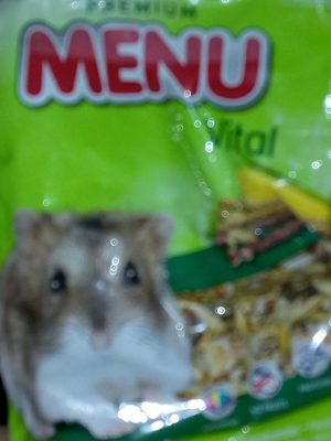 Aliment Complet Pour Hamsters Nains 400g - Product