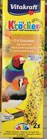 Original Kräcker Oeuf & Graines de graminées Perruches et Oiseaux Exotiques - Product - fr