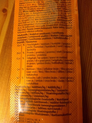 Beef Stick - Nutrition facts
