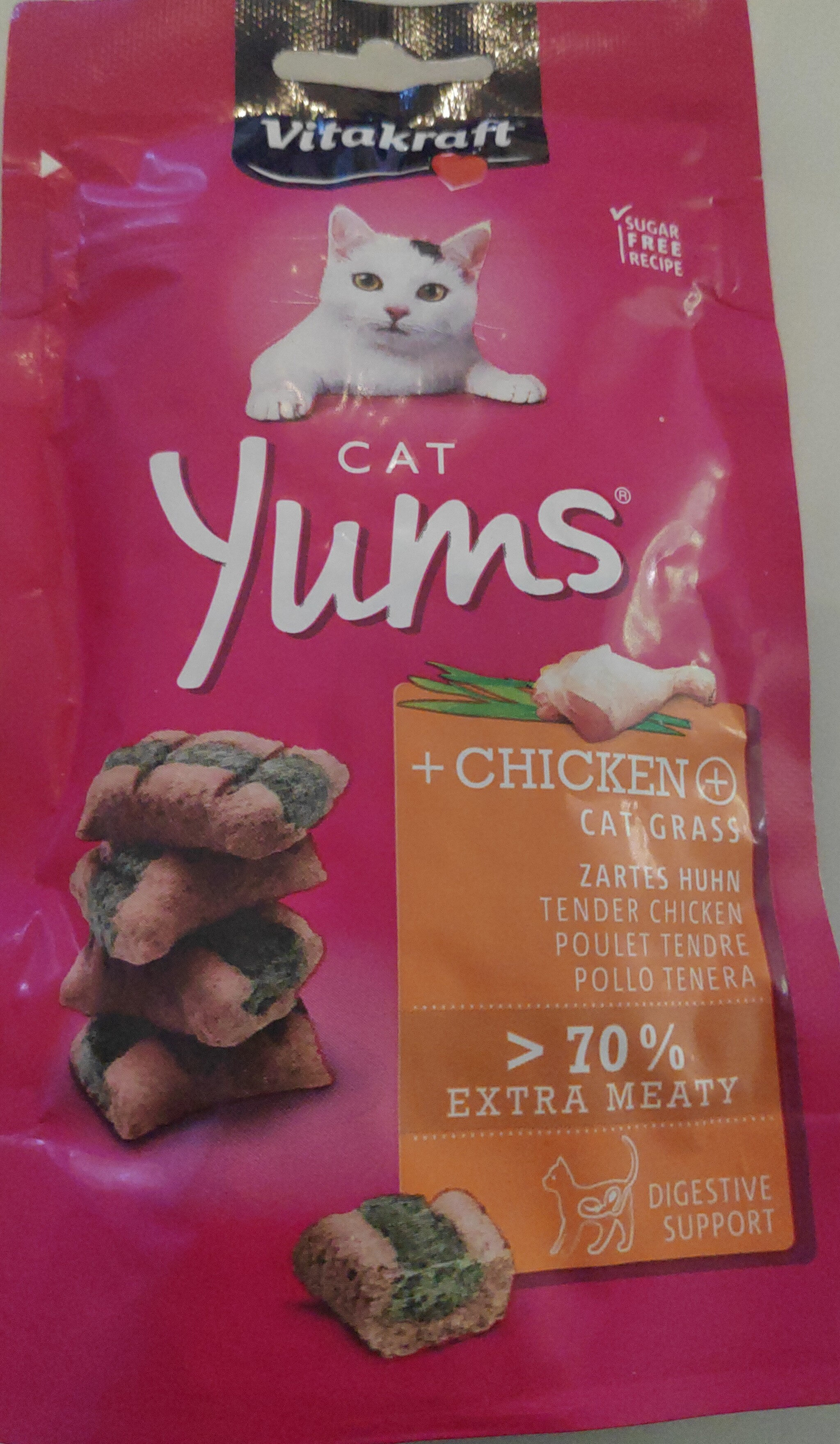 Cat Yums + Chicken - Product