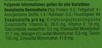 +Landpicknick in Sauce - Nutrition facts - de