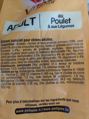 vital protection - Ingredients