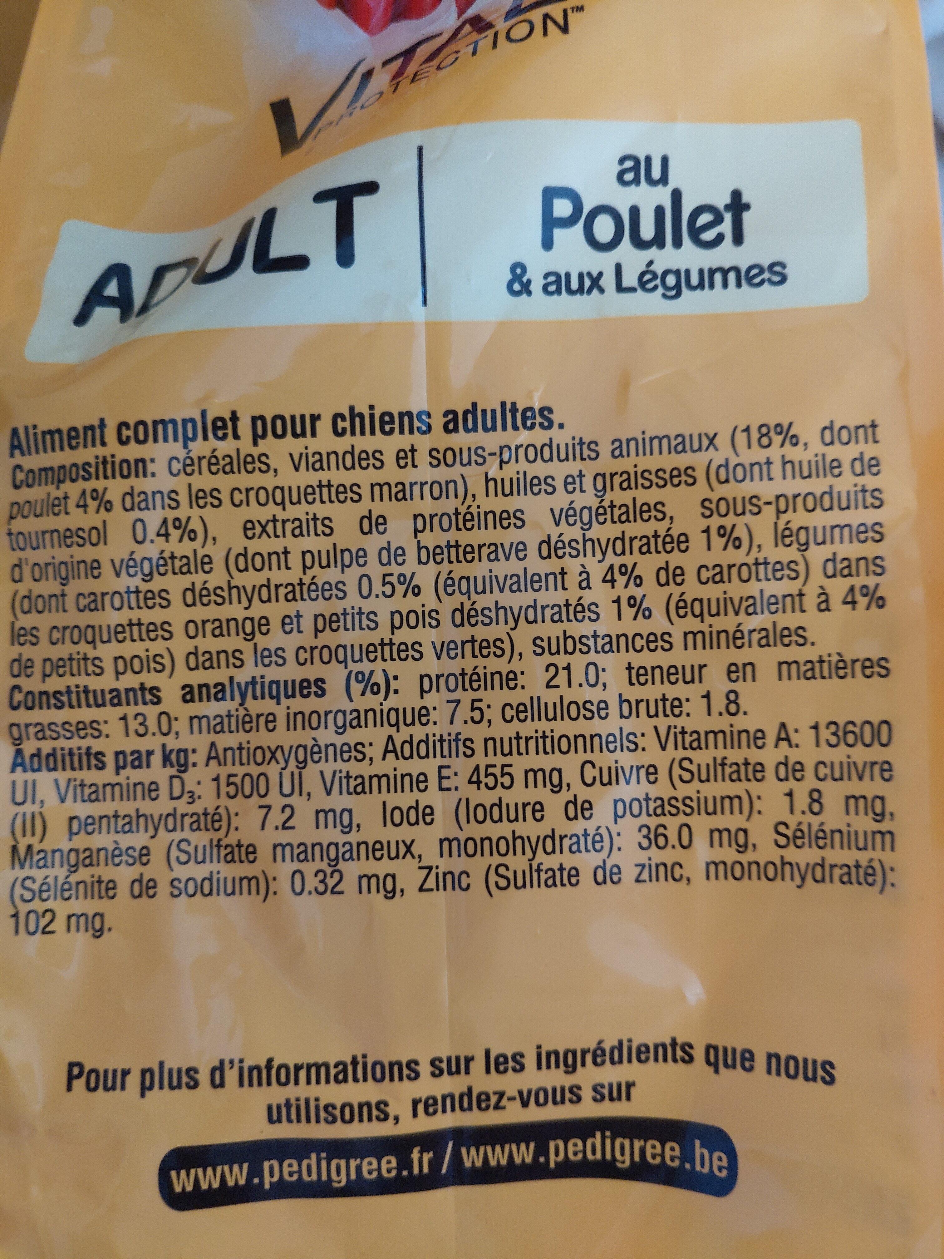 vital protection - Ingredients - fr