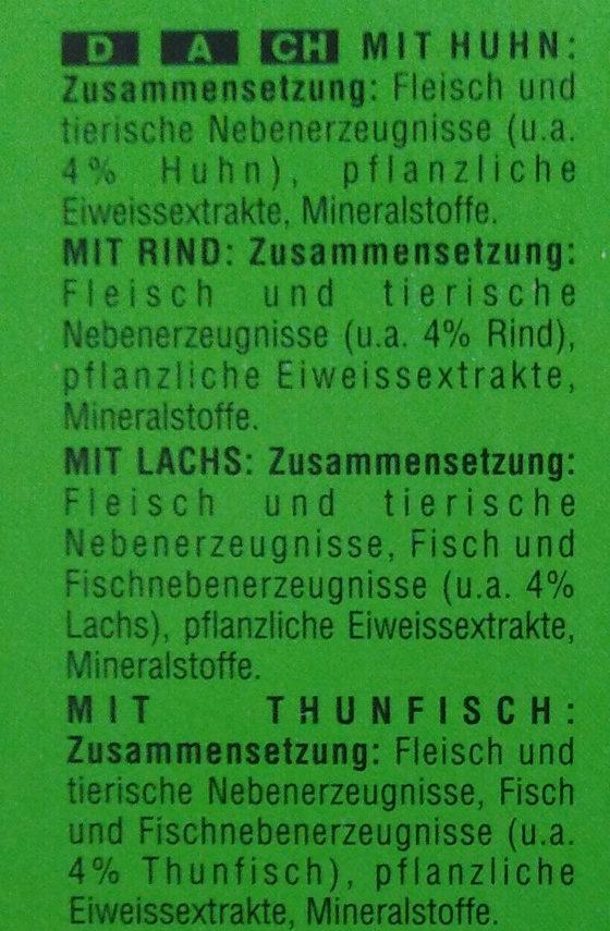 Meer & Land in Gelee - Ingredients - de