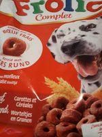 Frolic au boeuf aux carottes et aux cereales - Product