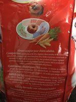 Frolic au boeuf aux carottes et aux cereales - Ingredients
