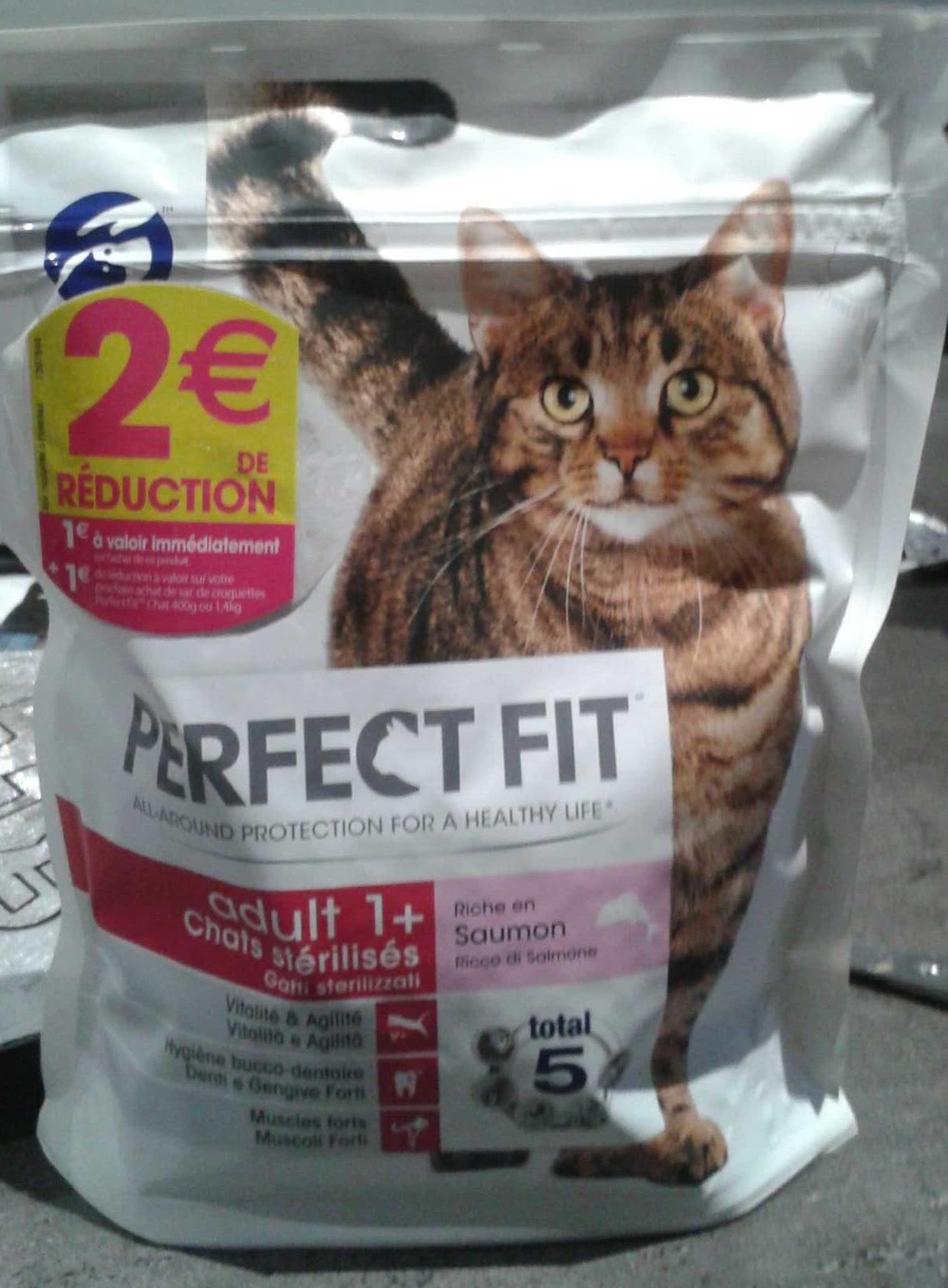 Croquettes Adult 1+ Chats stérilisés Saumon - Produit