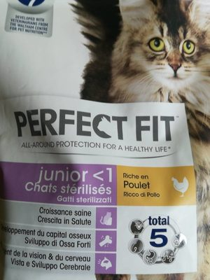 Croquettes Junior <1 Chats stérilisés Poulet - Product