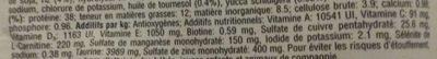 Croquettes Adult 1+ Chats stérilisés Poulet - Nutrition facts