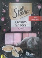 Creamy Snacks au saumon - Product - fr