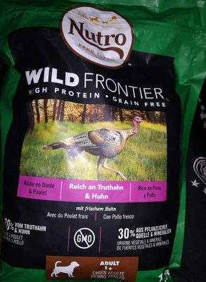 Nutro feed clean wild frontières - Product