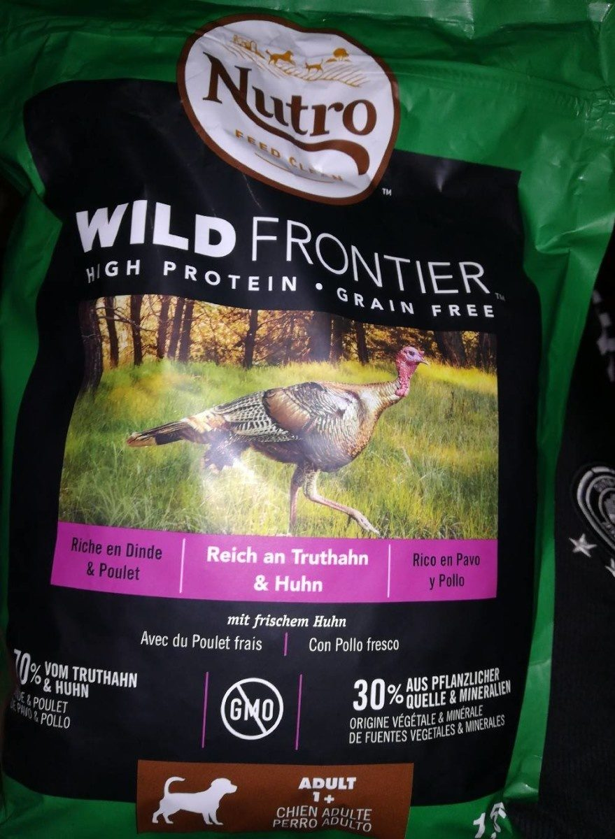 Nutro feed clean wild frontières - Product - fr