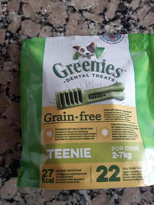 greenies dental treats grain free - Product