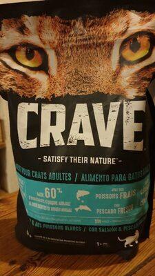 Croquettes bio pour chats 60% viande/poisson - Product - fr