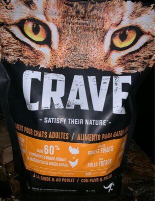 Aliment pour chat croquettes - Product