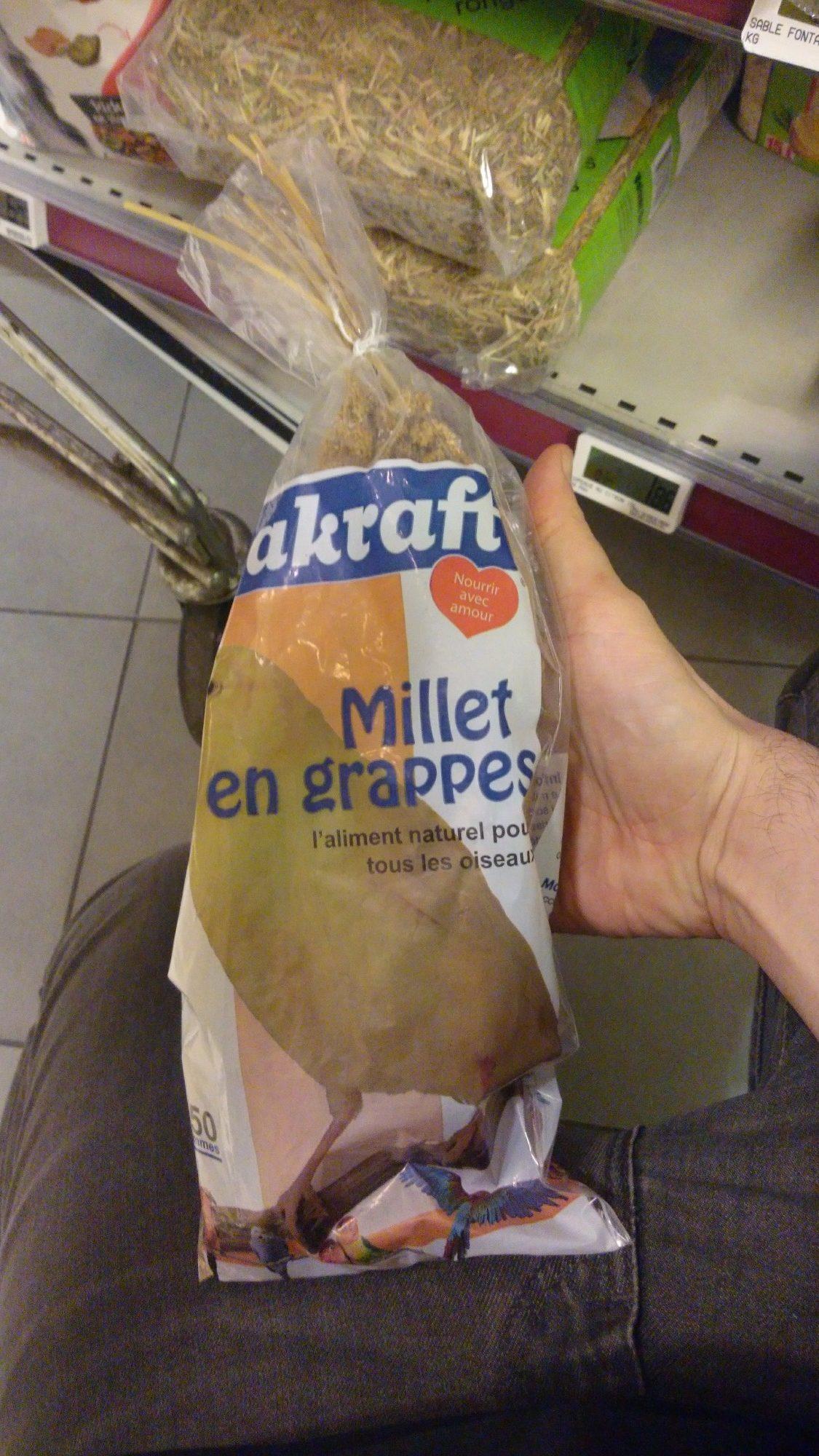 Millet en grappes - Product - en