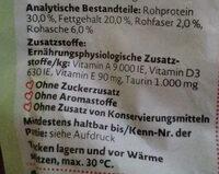 gefüllte Knabberkissen - Nutrition facts