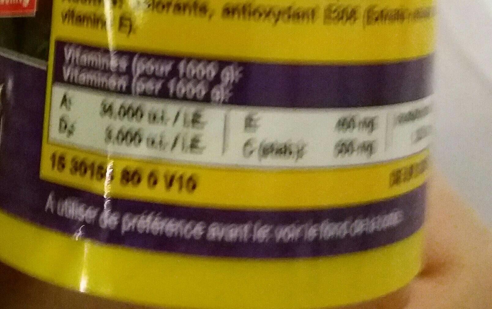 JBL Novocolor 100 ML Nourriture Poissons Colorés - Nutrition facts - fr