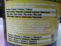 Pro rond  summer - Nutrition facts - fr