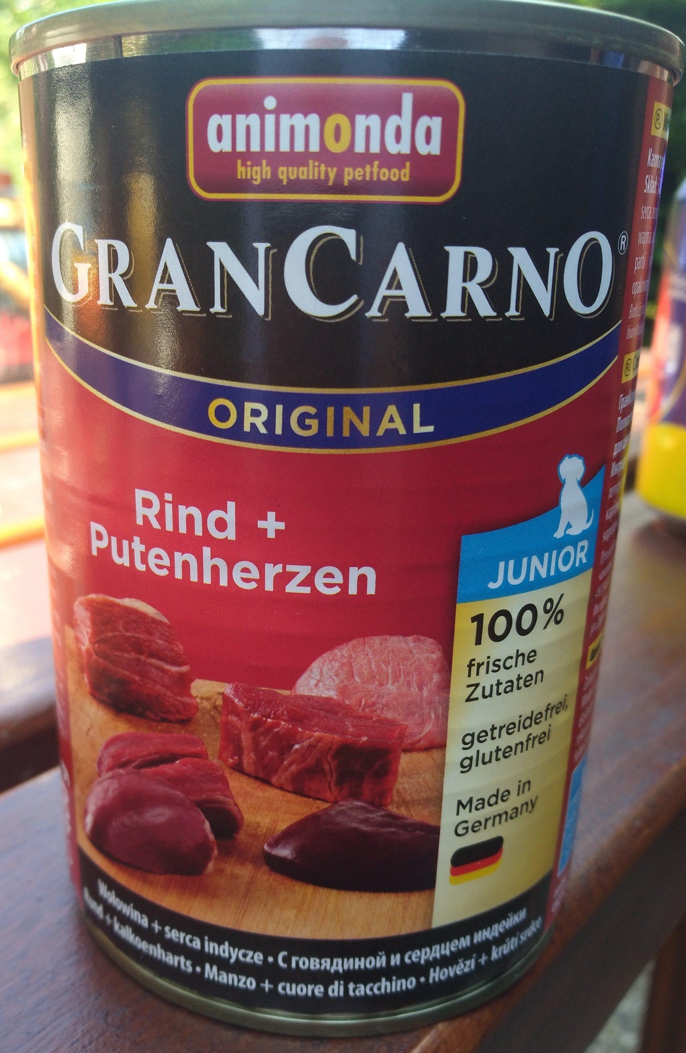 GranCarno Original Rind + Phtenherzen - Product - de