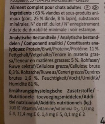 VOM FEINSTEN - Ingredients