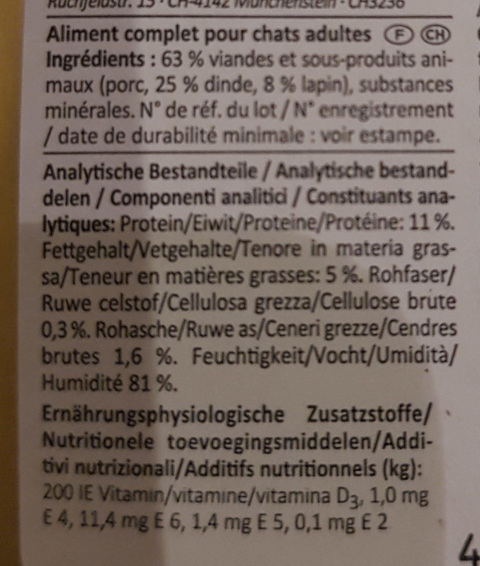 VOM FEINSTEN - Ingredients - de