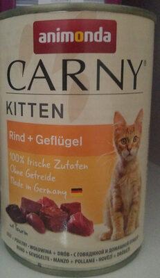 Carny - Kitten - Rind + Geflügel - Product