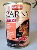 Carny Kitten Rind, Kalb + Huhn - Product - fr