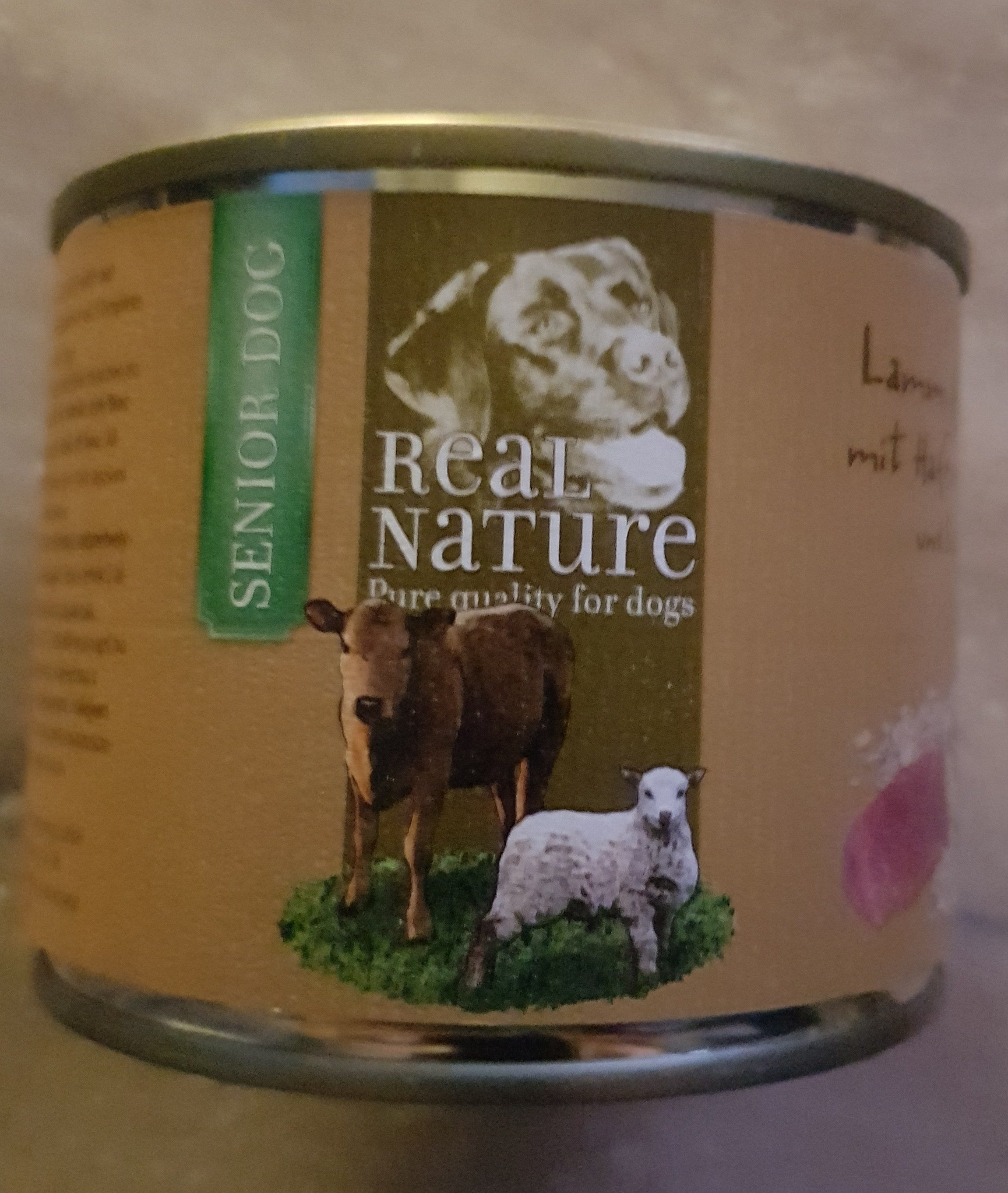 Real Nature Lamm & Kalb mit Haferflocken und Leinöl - Product