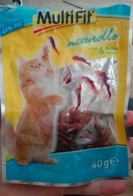 Multifit Katzensnack Naturelle 8X50G Hühnermagen - Product