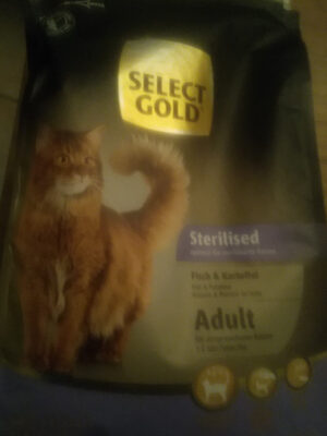 select gold sterilised fish & kartoffel - Product
