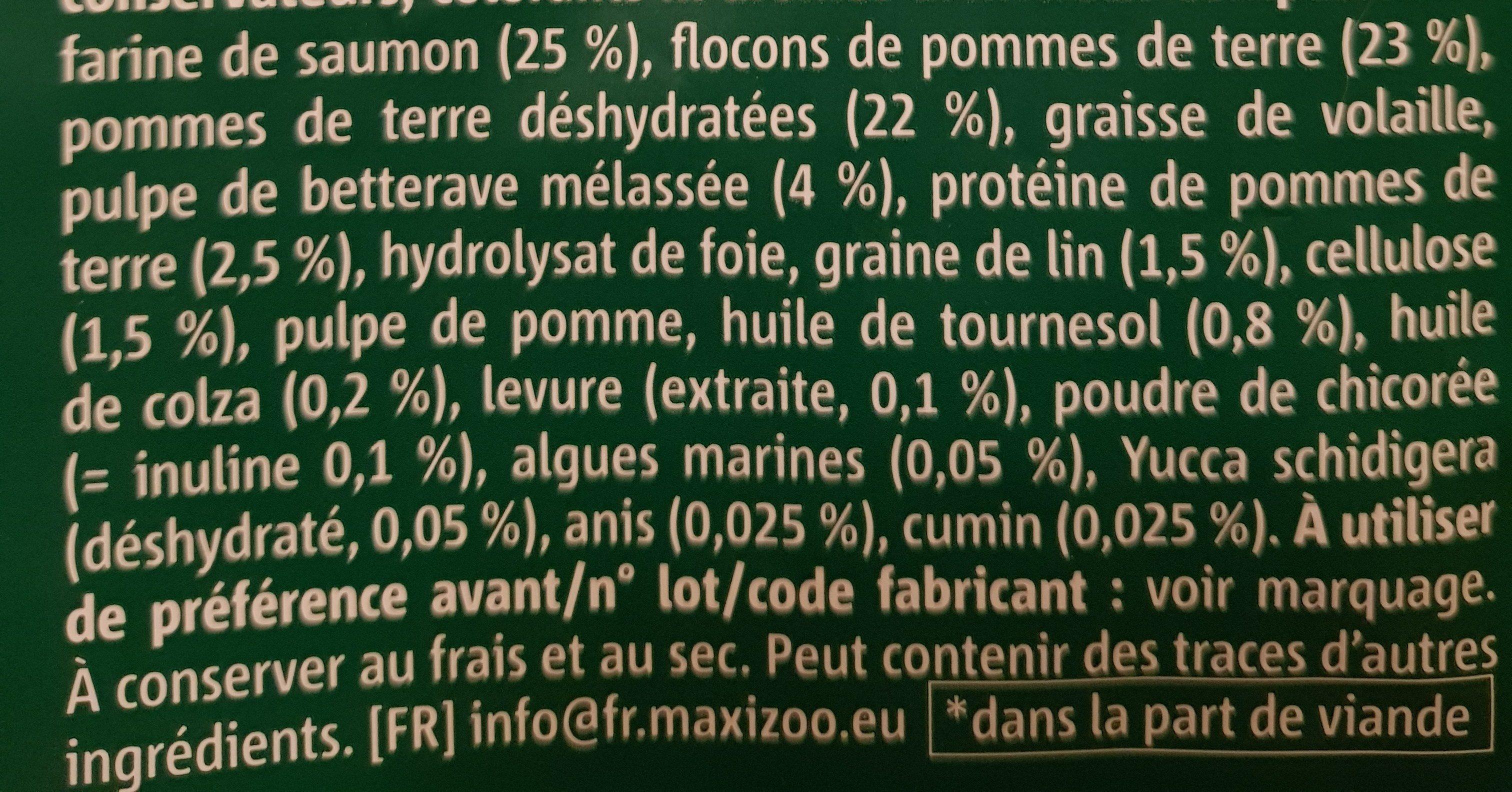 Select gold saumon et pomme de terre - Ingredients