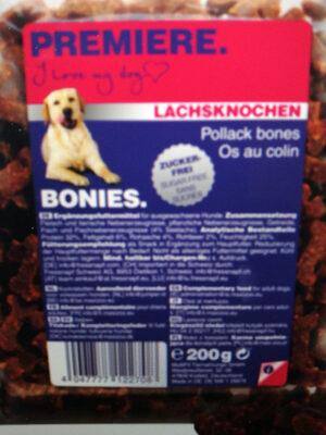 Bonies Lachsknochen - Product - de