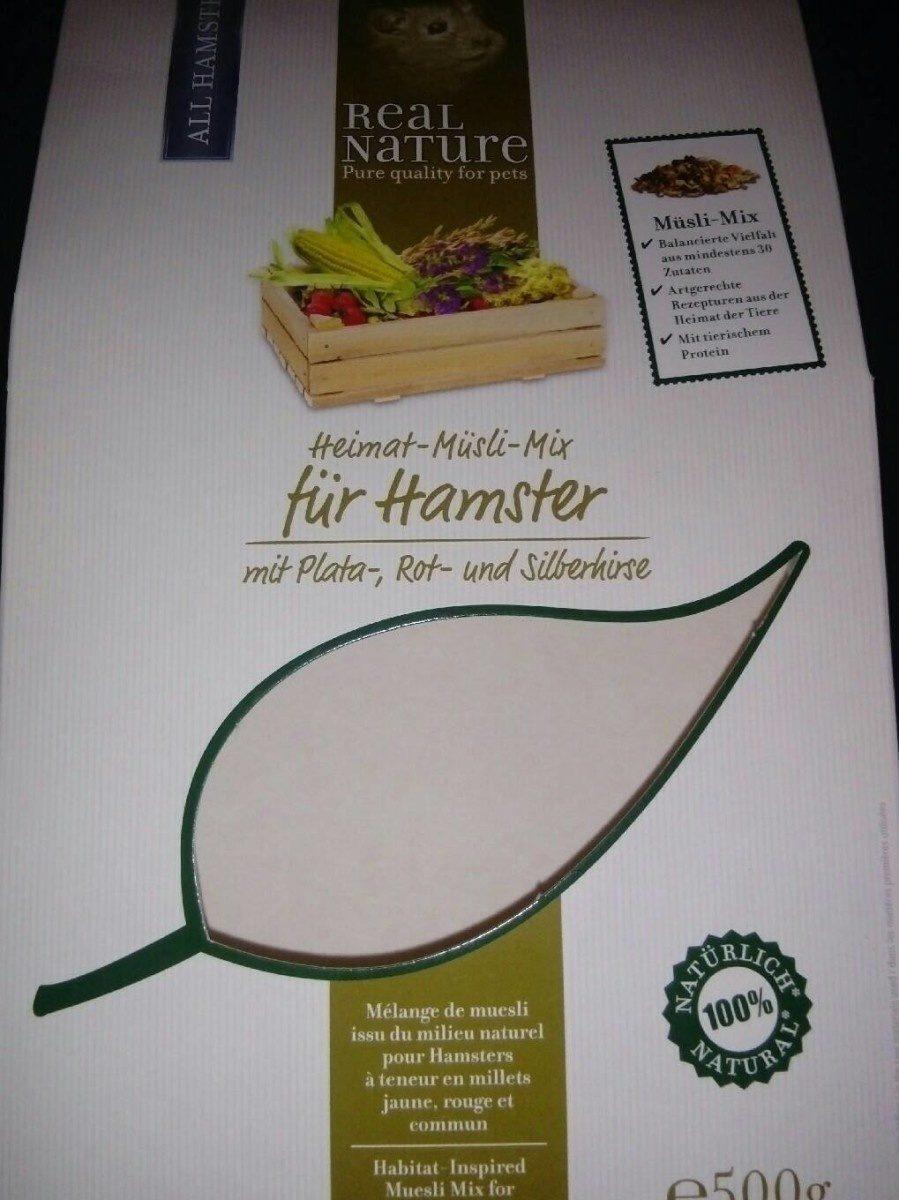 Mélange de muesli issu du milieu nature pour hamster - Product - fr