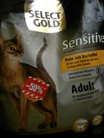 Select Gold Sensitive Adult - Product - fr