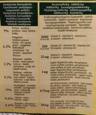 Dark Fjord - Nutrition facts - fr