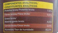 Orlando trozos en salsa - Nutrition facts - fr