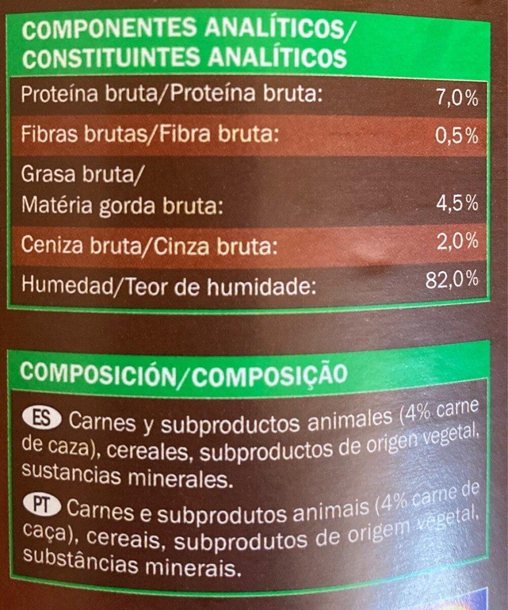 Trozos en salda - Nutrition facts - es